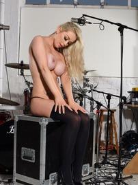 Drummer Baber Alexa Grace