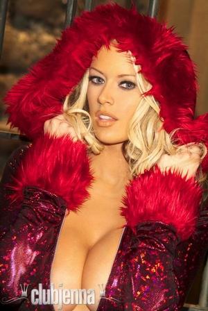 Jenna Jameson Red Jumpsuit