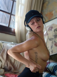 Victoriah Strips To Her Music