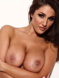 Lucy Pinder Shows Her Big Tits