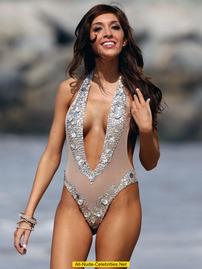 Farrah Abraham Topless On The Beach