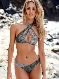 Candice Swanepoel In Sexy Bikini Collection