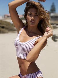 Rachel Barnes On The Beach