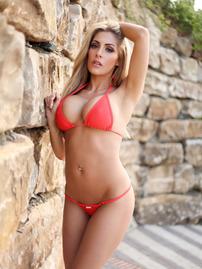 Ashley Emma Pink Bikini