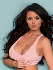 Abigail Ratchford Shows Big Tits In Hot Outfit