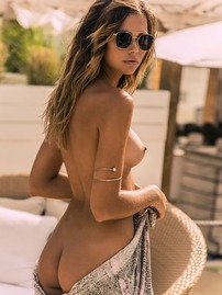 Sandra Kubicka Showing Off Her Bare Boobs And Ass