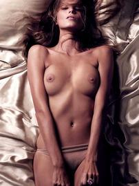Daria Werbowy In Photoshoot For Vogue Calendar