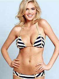 Blonde Babe Kate Upton Sexy Lingery Modeling