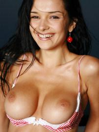 Jenya Busty Girl Gets Nude On Terrace