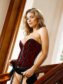 Heather Vandeven In Sexy Corset