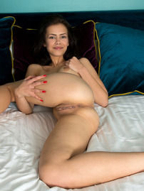 Laura Angelina Takes Off Her Sexy Lingerie For Us