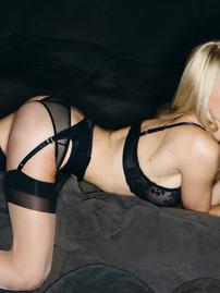Dani Mathers Loves Posing In Her Black Lingerie