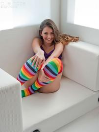 Allie Haze Multi Socks