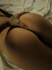 Brunette Goddess Posing Nude In Her Bedroom