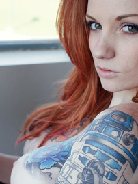 Beautiful Tattooed Girl Kemper