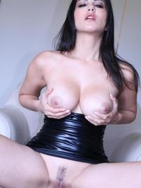 Sunny Leone Latex Upskirt