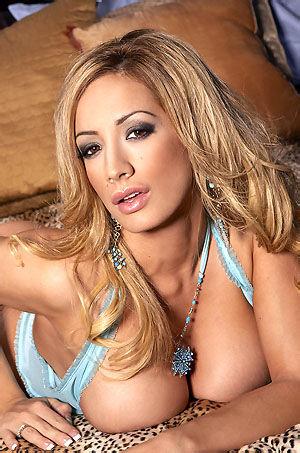 Lexxi Tyler Busty Blonde Babe In Blue Lingerie