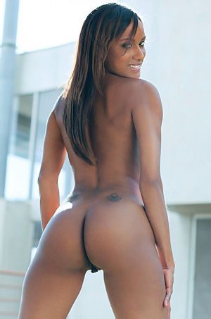 Slim Ebony Babe Ashley Sasha