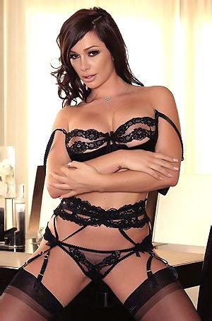 Destiny Dixon In Sexy Black Lingerie