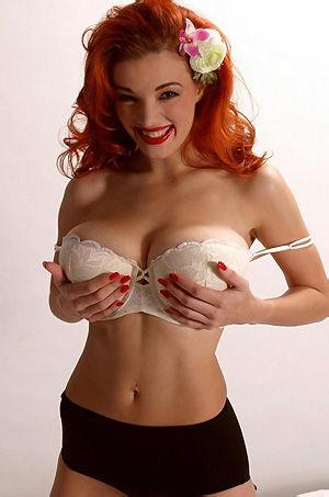 Busty Redhead Danielle