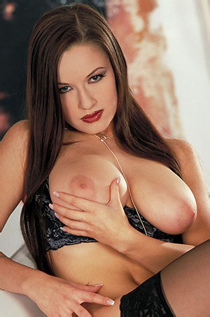 Lucy Shows Her Big Natural Tits