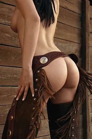 Izabella Hot Assed Playboy Cowgirl