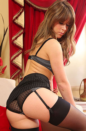 Chloe Louise Sexy Secretary Strips