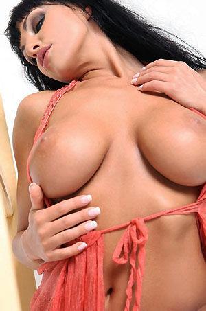 Marta Busty Babe Strips