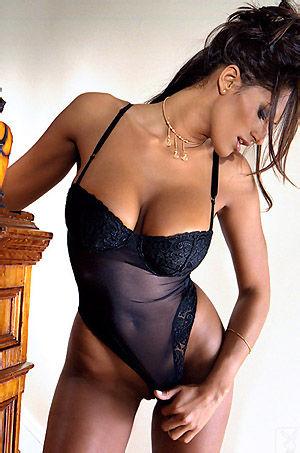 Busty Playboy Babe Dorothy Teixeira