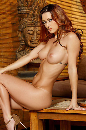 Karlie Montana Sexy Redhead Babe In Bikini