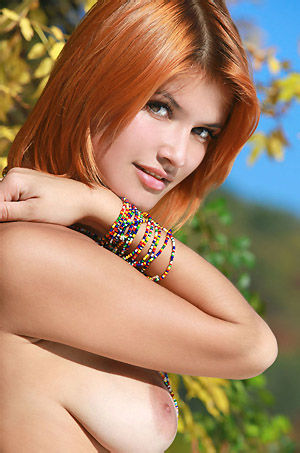 Violla Nude Outdoors