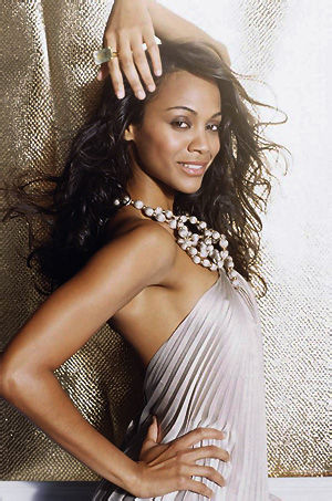 Gorgeous Babe Zoe Saldana