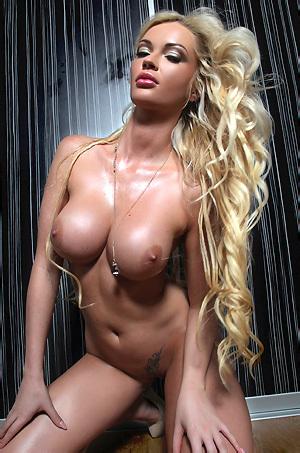 Blonde Dream Babe Shiny Body