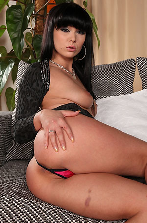 Sexy Black Haired Slut