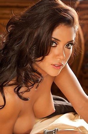 Arianny Celeste Sexy Black Lingerie