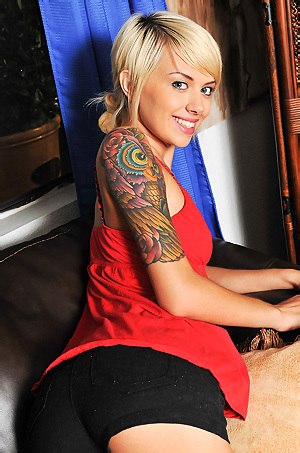 Emma Hot Tattooed Babe