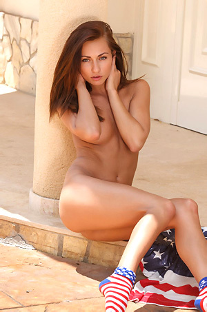 Michaela Isizzu Gets Nude
