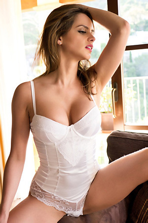 Adele Taylor Sexy Lingerie