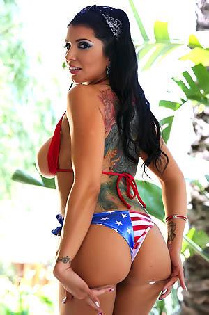 Romi Rain Strips Off Her Bikini
