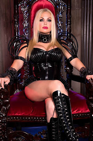 Jesse Jane In Black Latex