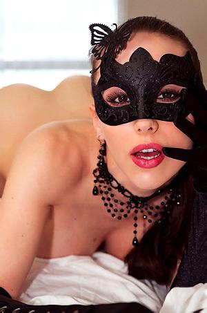 Katie Banks Masked Hottie