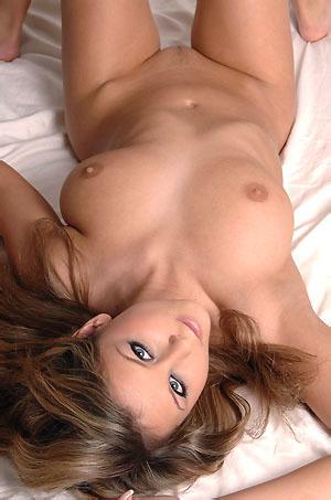 Adela On Her Bed