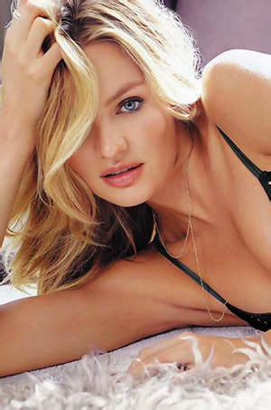 Candice Swanepoel Totally Nude In The Studio