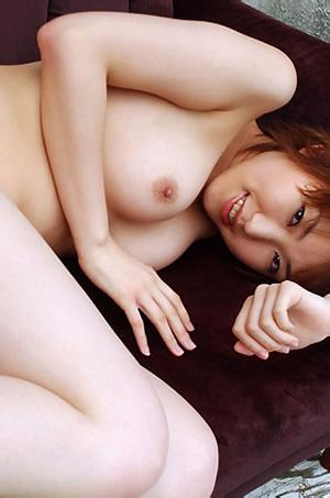 Madoka Kikuhara In See Through Sweater