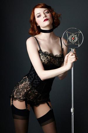 Emma Stone Sexy Actress