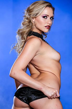 Mia Malkova In Sexy Black Velvet