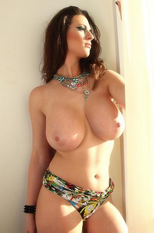 Lana Kendrick Shows Her Big Tits