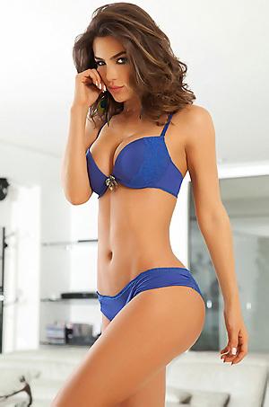 Natalia Velez In Sexy Lingerie