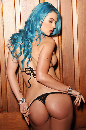 Blue Haired Angel Gigi Allens