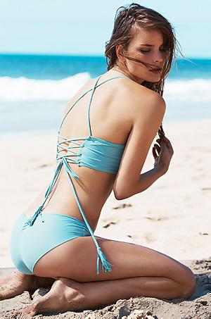 Julie Beekman In Sexy Bikini Collection